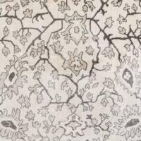"Momeni Carroll Gardens Machine Made Polyester Ivory Area Rug - 3'11"" x 5'7"""