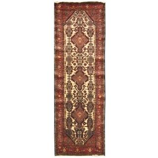 Handmade Nahavand Wool Rug (Iran) - 3'2 x 10'2