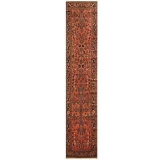 Handmade Malayer Wool Rug (Iran) - 3'3 x 16'6
