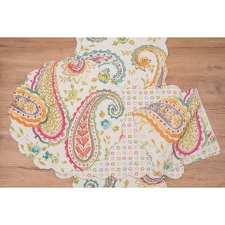 Reese Cotton Quilted Placemat Set of 6 - N/A