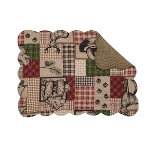Garrett Rustic Cotton Quilted Placemat Set of 6