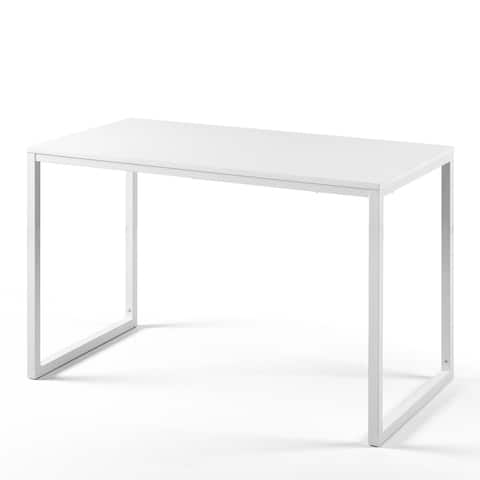 Priage by Zinus Soho Rectangular Table Only, Office Desk, 47 Inch Vanilla