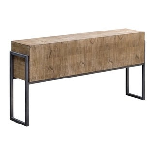 Link to Uttermost Nevis Light Oatmeal Wash Contemporary Sofa Table Similar Items in Living Room Furniture