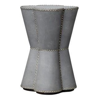 Uttermost Maisy Grey Quatrefoil Accent Table