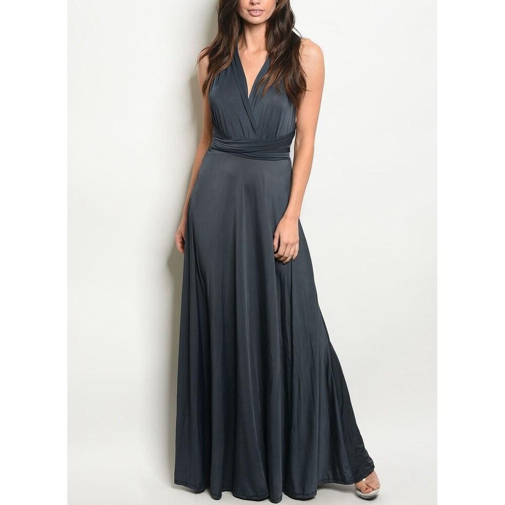 JED Womens Infinity Multi-Way Long Dress