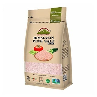Himalayan Chef Super Fine Grains Pink Salt, 2 lbs