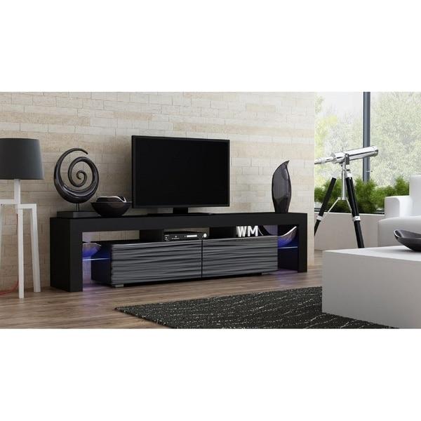 Modern Led Tv Cabinet Tv Stand Milano 200 Living Room Furniture Tv Cabi Home Garden Furniture Home Garden