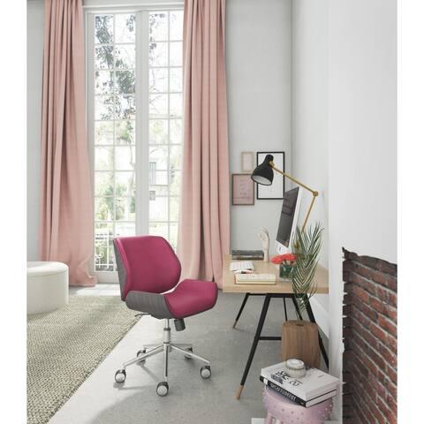 Carson Carrington Vik Bentwood Metal/Fabric Task Chair