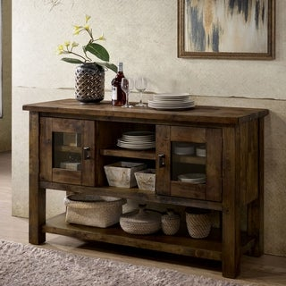 Carbon Loft Glamdring Rustic Dining Buffet