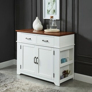 Furniture of America Malone Farmhouse Two-tone Dining Server