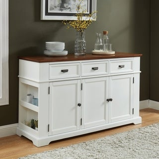 Furniture of America Tatum Farmhouse Two-tone Buffet