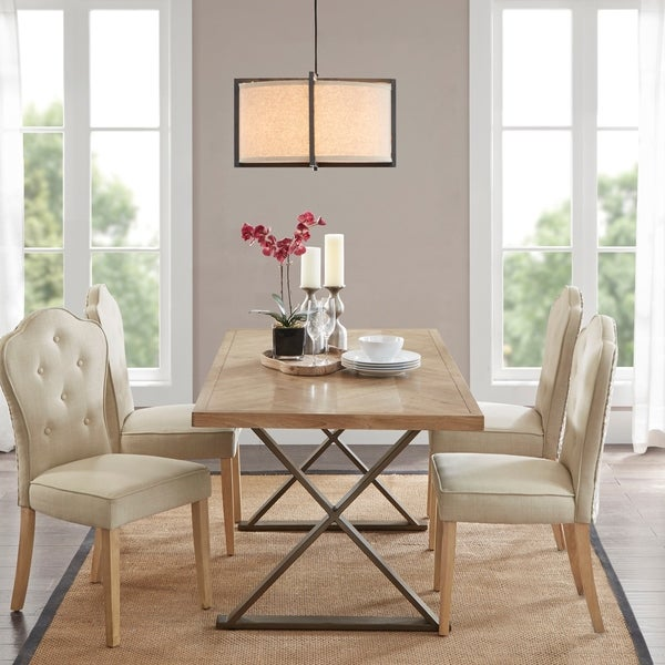 Shop Madison Park Esther Natural Dining Table