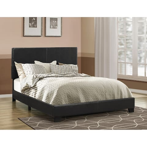 Buy Black, Leather Beds Online at Overstock | Our Best Bedroom ...