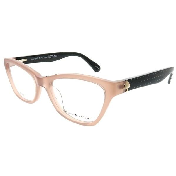 b42b3d94a90 Shop Kate Spade Cat-Eye Alaysha FWM Women Nude Frame Eyeglasses ...