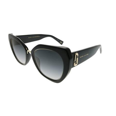 95eee6af9df0d Marc Jacobs Cat-Eye Marc 313 G S 807 9O Women Black Frame