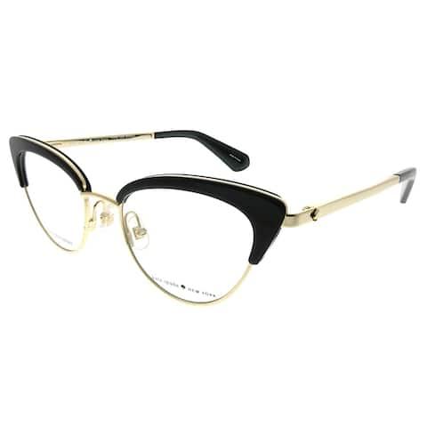 Kate Spade Cat-Eye Jailyn 807 Women Black Frame Demo Sunglasses