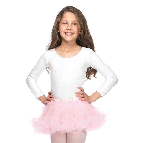 Leg Avenue Children's Children's Bodysuit 11-13 (X-Large)WHITE
