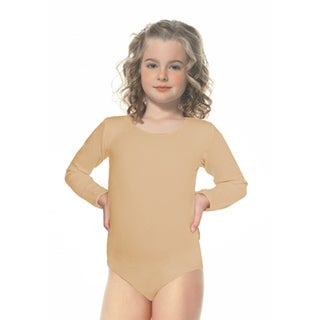 Leg Avenue Children's Children's Bodysuit 7-10(Large) NUDE