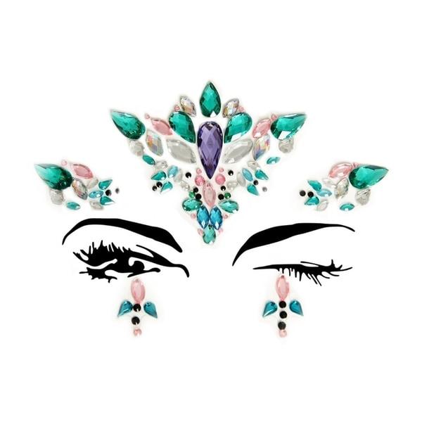 9db7e7698c Leg Avenue's Aria Adhesive Face Jewels Sticker.