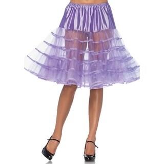Leg Avenue Women's Mid-Length Petticoat, O/S, Lavender