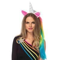 Leg Avenue Women's Unicorn Headband Costume Accessory, O/S, Multicolor
