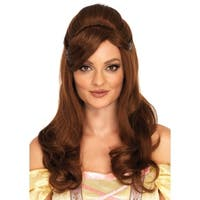 Leg Avenue Women's  Long Storybook Beauty Wig One-Size, O/S, Brown