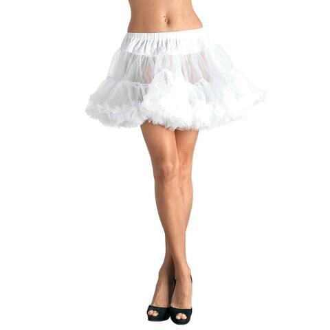 Leg Avenue's Petticoat O/S White O/S White