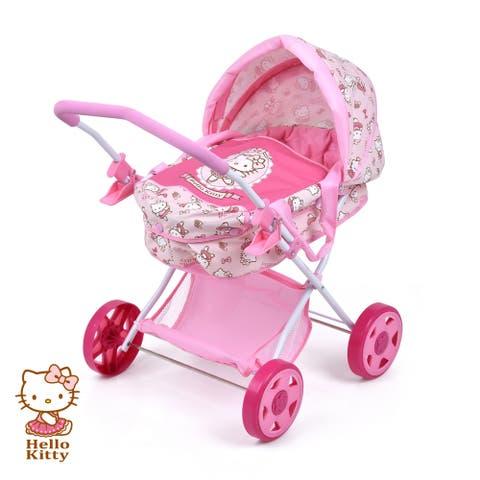 Hello Kitty Doll Pram for Baby Dolls