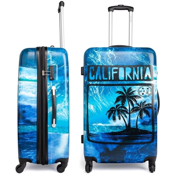 7ee09dc193bb Shop Maui and Sons Cali Expandable Hardside Spinner Luggage, TSA ...