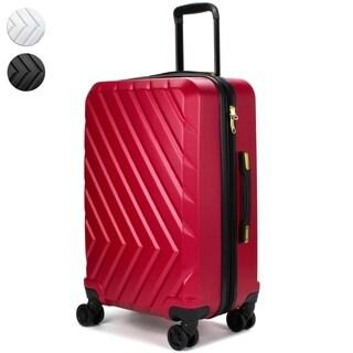 "V1969 Italia Arrow Expandable Hardside Spinner Luggage w/ TSA Lock, 24"""