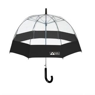 Black Aspen Bubble Umbrella - Large Canopy, 52 Inch Coverage Auto Open