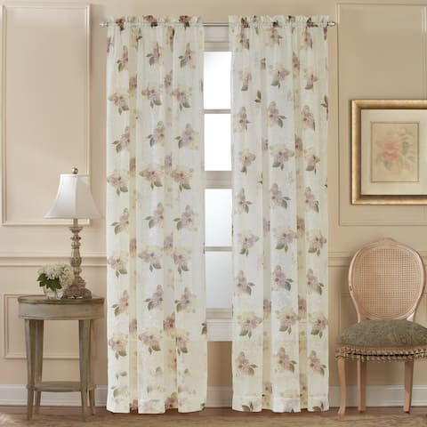 Waterlily Scroll Valance and Curtain Collection