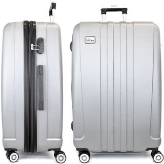 """Miami CarryOn Expandable Hardside Spinner Luggage w/ Combo Lock, 28"""""""