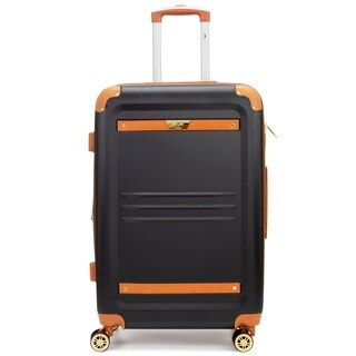 V19.69 Italia Vintage Expandable Hardside Spinner Luggage, TSA Lock, 24""