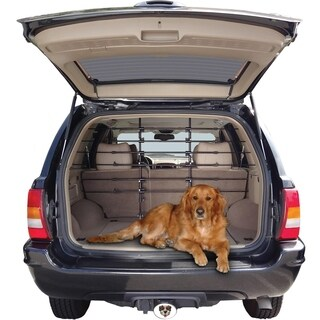 "Precision Pet Universal 6-Bar Vehicle Pet Barrier - black - 32-57""h x 38-65""w"