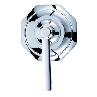 Draper 1H Trim Kit for 3-Port/2-Outlet Shower Diverter & 4-Port/3-Outlet Shower Diverter Chrome
