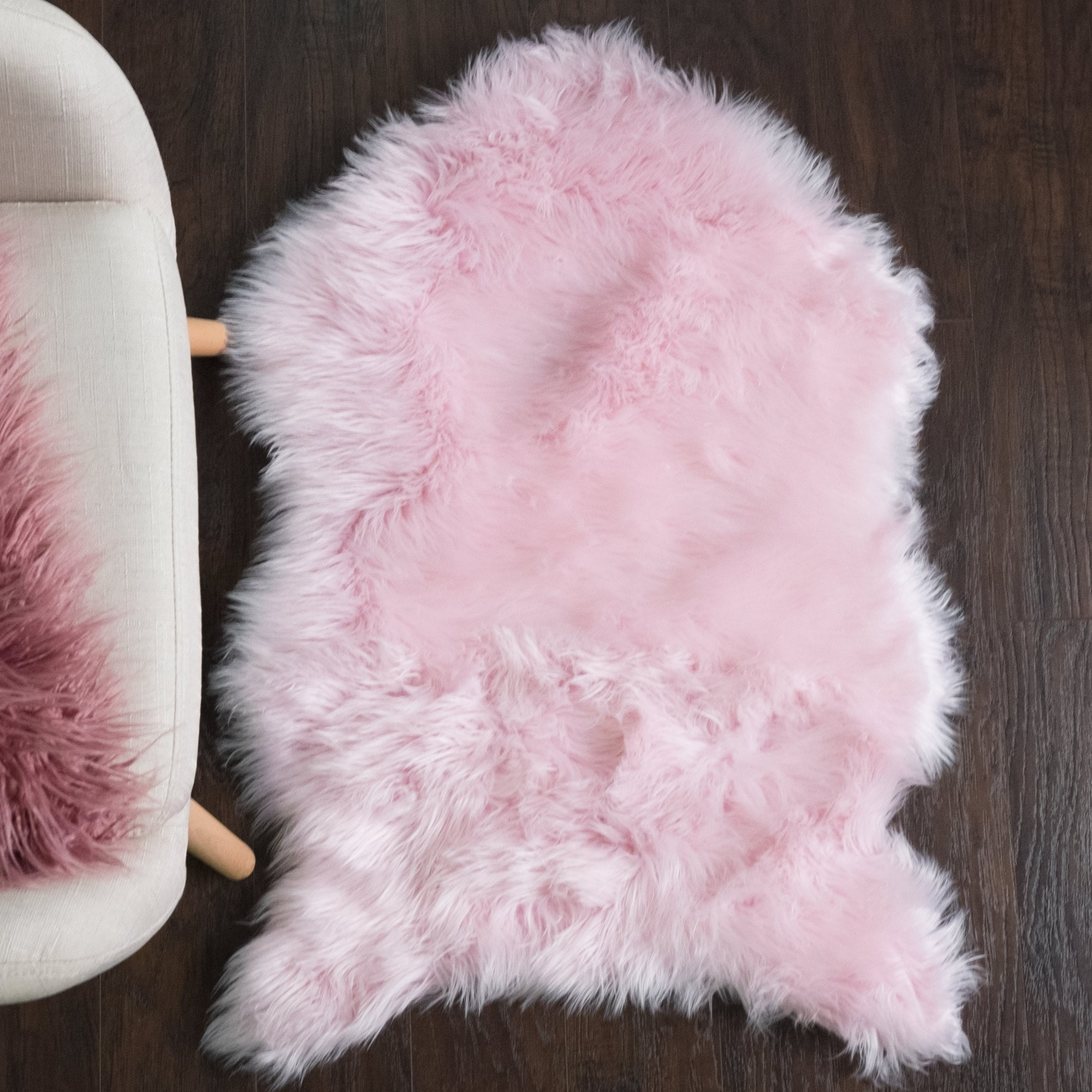 Sweet Home Collection Faux Fur Rug