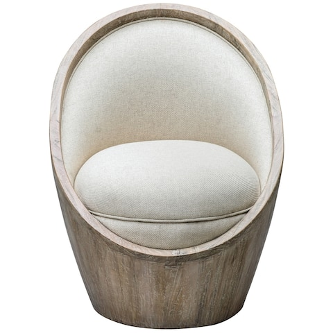 Uttermost Noemi Warm Oatmeal Accent Chair