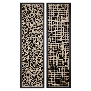 Trisha Yearwood Black Canyon Handmade Paper Wall Decors (Set of 2)
