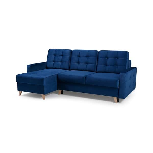 Shop Vegas Futon Sectional Sofa Bed, Queen Sleeper with ...