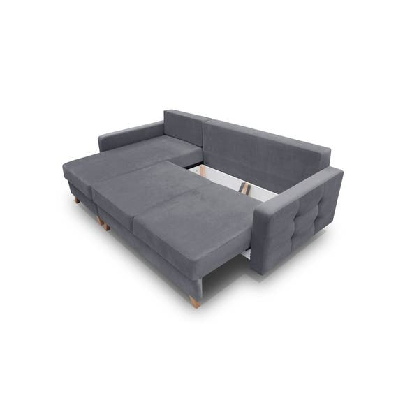 Vegas Futon Sectional Sofa Bed
