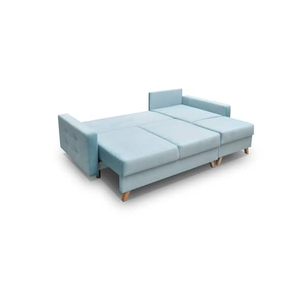 Vegas Futon Sectional Sofa Bed