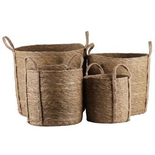 UTC55065 Maise Basket Natural Finish Brown