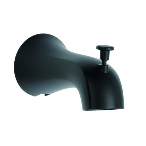 Danze Draper Tub Spout with Diverter Satin Black