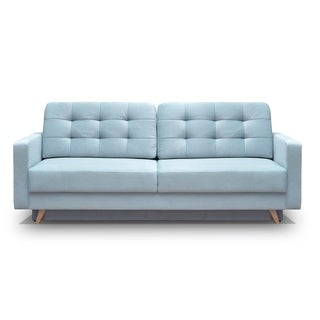 Vegas Futon Sofa Bed, Queen Sleeper with Storage