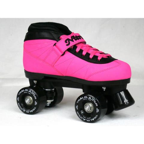 NEW CUSTOM Epic Nitro Turbo WILDBERRY RIDE Pink & Blk Outdoor Quad Roller Skates