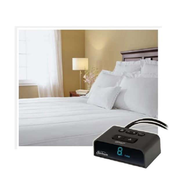 Shop Pure Warmth 5302 9051rm 100 Quilted Heated Mattress