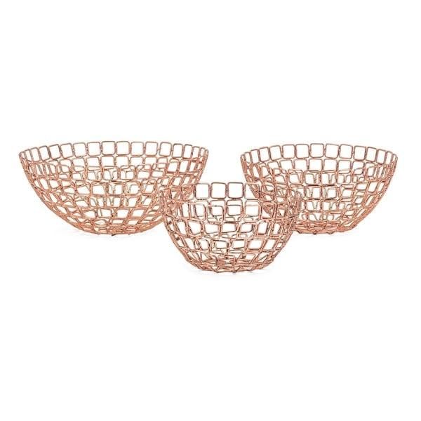 Copper Madison Bowls (Set of 3)