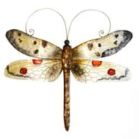 Handmade Dragonfly White And Red