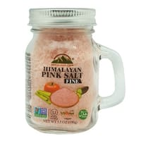 Himalayan Chef Fine Small Mason Jar Pink Salt, 3.5 Oz
